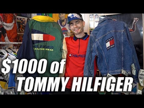 Yup, I THRIFTED $1000 OF TOMMY HILFIGER... Whud up.