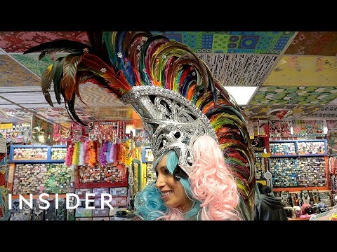 Costume Shop Has The Most Spectacular Headpieces