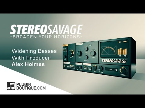 Adding Width To Mono Synths Using StereoSavage - With Alex Holmes