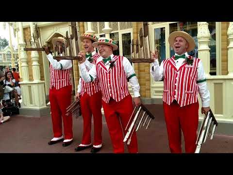 Walt Disney World - Dapper Dans on Main Street USA!
