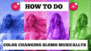 How to Make Color Changing Slo-Mo Musical.lys (Crowned Muser)