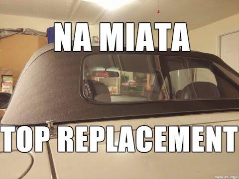 How to: Replace Mazda Miata Top NA 90-97