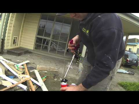 The best way to Correctly clean a foam gun