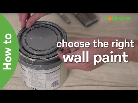 How to choose the right wall paint | Decorating Ideas | Homebase