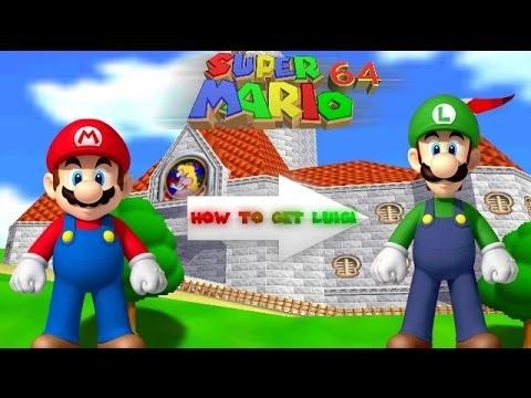 [READ DESCRIPTION] Super Mario 64! | How to unlock Luigi!