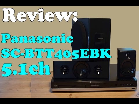 Review: Panasonic SC-BTT405EBK Blu-ray 5.1 Surround Sound System