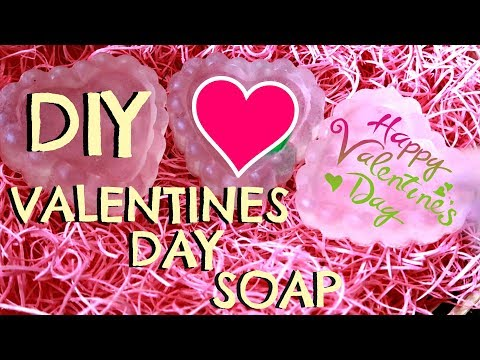 DIY VALENTINES DAY SOAP!
