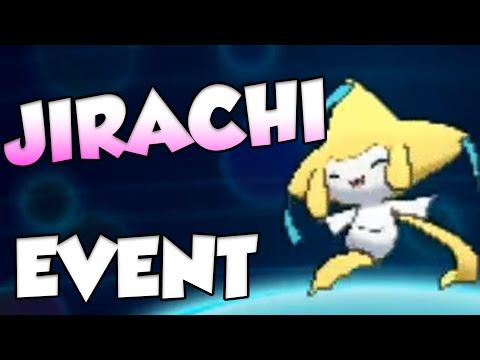 Pokemon Mythical Legendary Jirachi Event! #Pokemon20