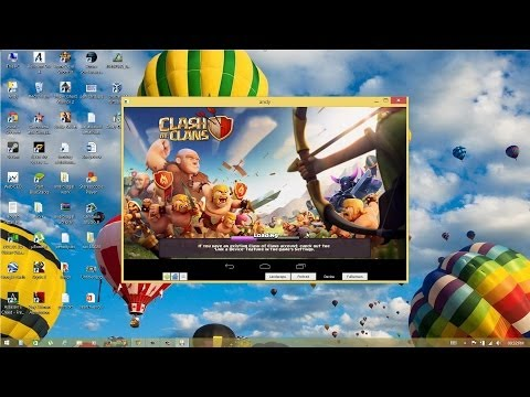 Play Clash of Clans on PC using Andy Android Emulator