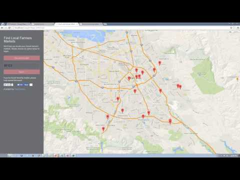 Google maps api v3 tutorial - Part 1 of 4
