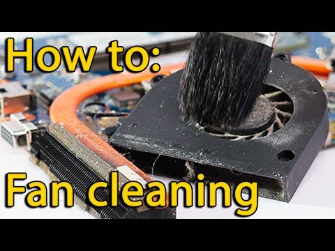 Dell Inspiron 15 - 3537 disassembly and fan cleaning, как разобрать и почистить ноутбук