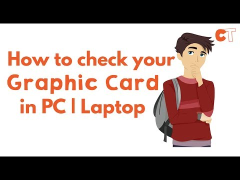 How To Check Graphic Card Details in PC|Laptop