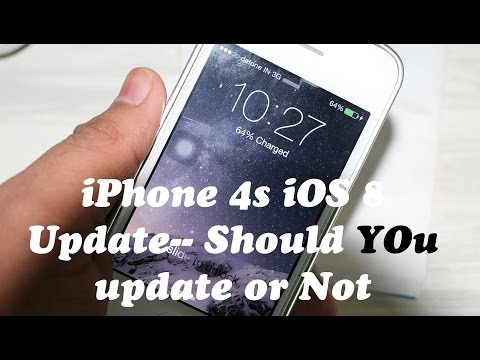 iPhone 4S Official iOS 8 Update - Performance