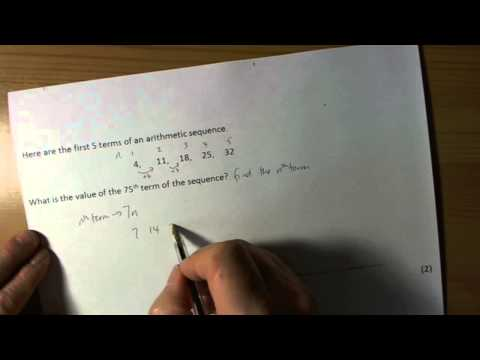 nth term rule for arithmetic sequences