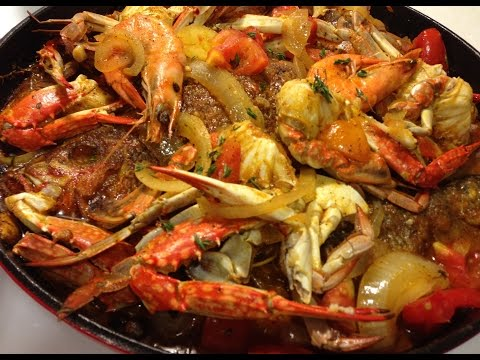 Stew Fish with Blue Crabs and Shrimp (FULL VERSION)