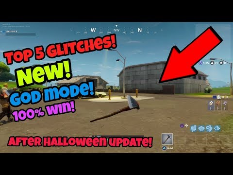 Fortnite Battle Royale Glitches (New top 5) become invisible after the latest update PS4/Xbox one