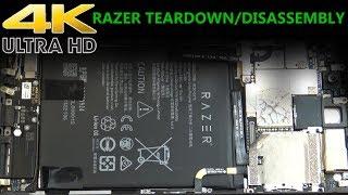 2017 Razer Gaming Smartphone Teardown Disassembly Repair Video RZ35-0215