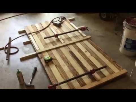 Rustic American Outdoor Flag / DIY
