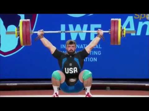 Men's 94 kg A Session Snatch - 2017 IWF Weightlifting World Championships (WWC)