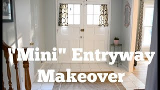 BEFORE & AFTER: Entryway Refresh Makeover with Hive Home
