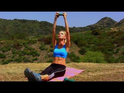Abs Toning Exercises ★ Workout with Weights