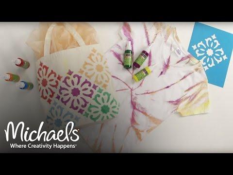 Fabric Spray Paint | DIY Apparel | Michaels