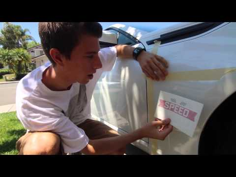 How To install a Vinyl Decal