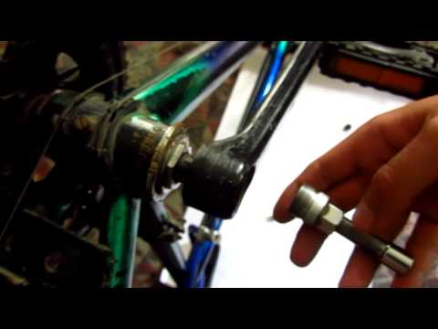 How to Remove a Bicycle Crank Arm