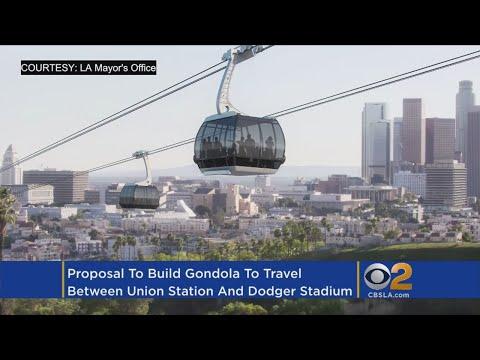 Gondola For Game Day? Metro Eyes Plan For Aerial Tramway To Dodger Stadium