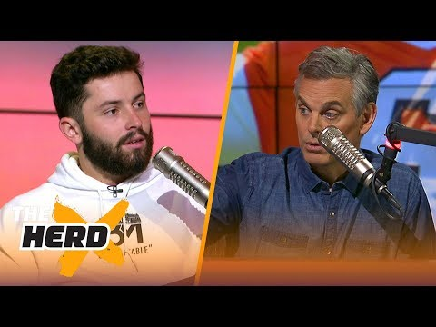 Baker Mayfield's full interview with Colin Cowherd   NFL   THE HERD