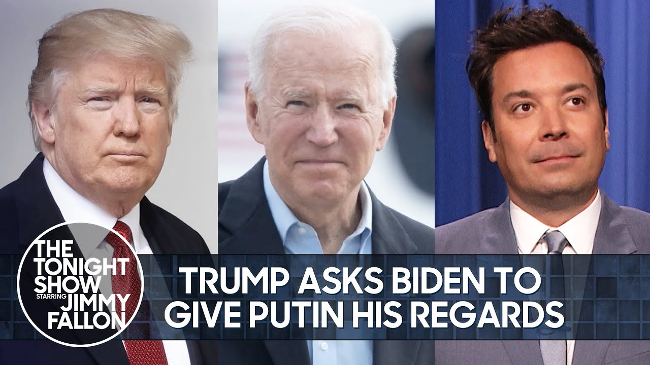 Trump Asks Biden to Give Putin His Regards, Kardashians Series Finale   The Tonight Show
