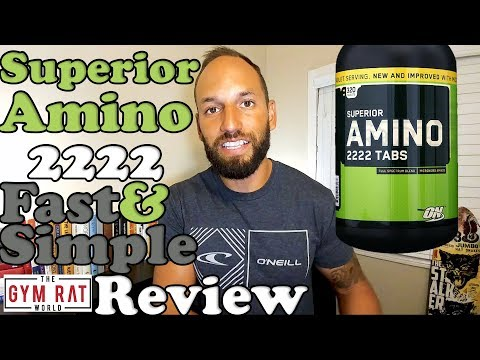 Superior Amino 2222 | Recovery Supplement |  Review
