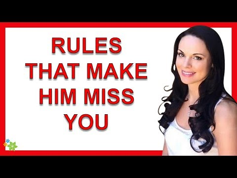8 Rules For Making A Man Miss You