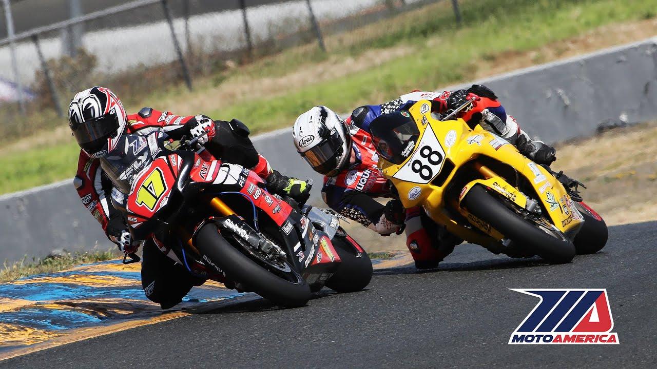 MotoAmerica EBC Brakes Superbike Race 1 at Sonoma