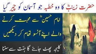 Hazrat Zainab Ka Tareekhi Khutba | Waqya Karbala aur Bibi Zainab | Limelight Studio