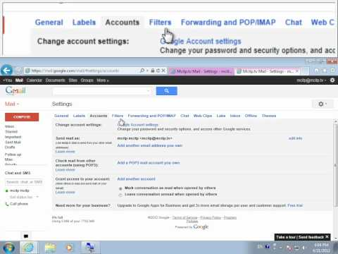 how to change gmail user name