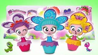 Download Видео для детей. Распаковка! Набор для выращивания цветов: ЦВЕТУЛИ. Расти, наблюдай, в куклы играй! Video