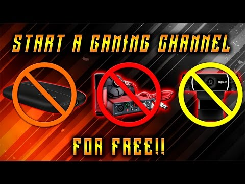 How To Start a Gaming Channel for FREE! (XB1 & PS4)