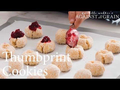 Thumbprint Cookies  | Danielle Walker
