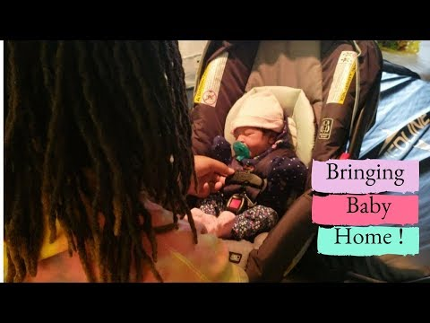 BRINGING NEWBORN BABY HOME FROM HOSPITAL !👶🏡