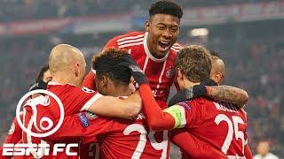 Bayern Munich thrashes Besiktas 5-0 in Champions League   ESPN FC