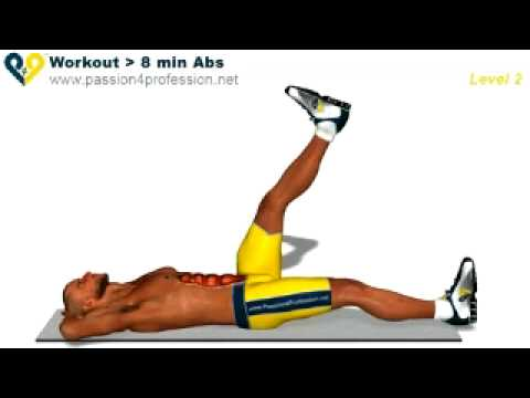 Abs workout how to have six pack - Level 3