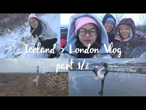 Iceland - London Vlog part 1/2