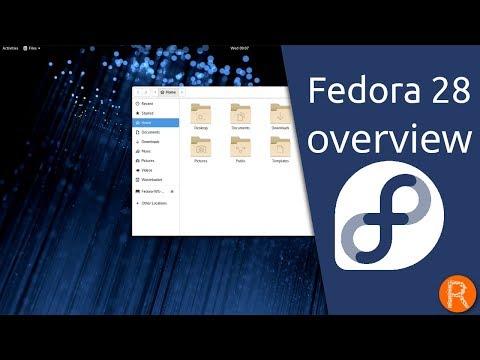 Fedora 28 overview | Choose Freedom. Choose Fedora.