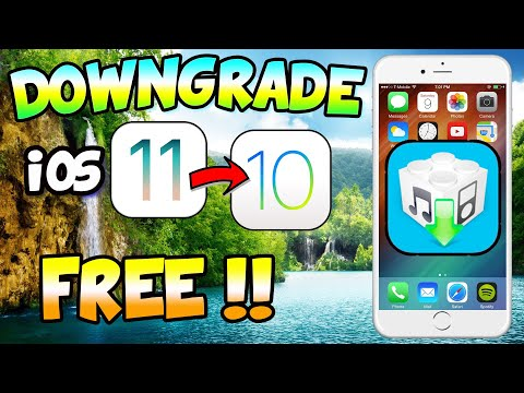 How To Downgrade From Latest (IOS 11 Beta 7)  IOS Version To IOS 10 !! SHSH2 Blobs !!