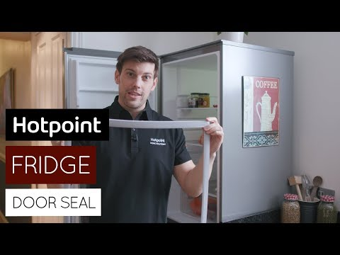 How to replace your fridge freezer door seal   by Hotpoint