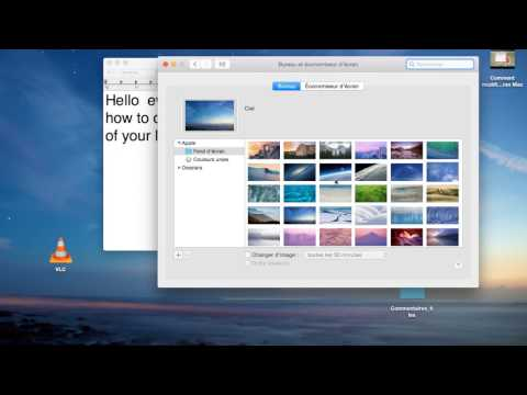 How to change your Mac home screen