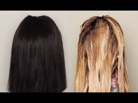 How To Bleach Hair Extensions| ft. HerHairCompany