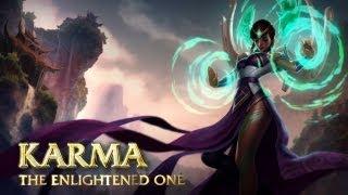 Karma: Champion Spotlight | Gameplay - League of Legends
