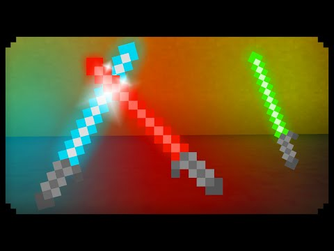 ✔ Minecraft: How to make Lightsabers